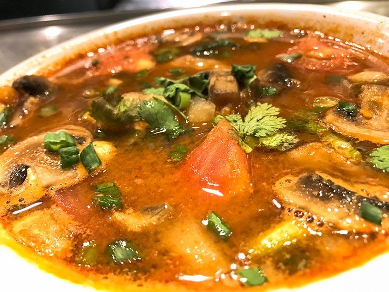 Thom Yum Ghung (Soup)